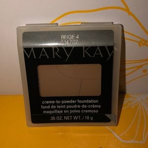 Mary Kay Creme-to-powder foundation Beige 4
